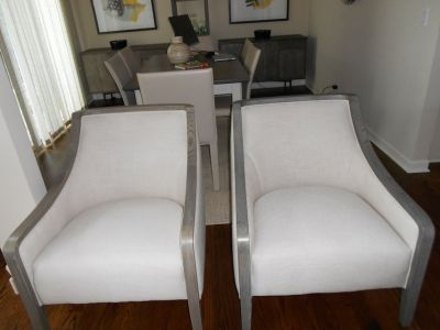 Crate&Barrel Bryn Chairs (2)