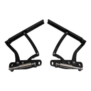 Purchase 1968 CHEVELLE EL CAMINO BILLET HOOD HINGES BLACK ANODIZED. MADE IN U.S.A. motorcycle in Fullerton, California, US, for US $641.25