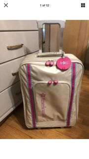 American Girl Rolling Suitcase