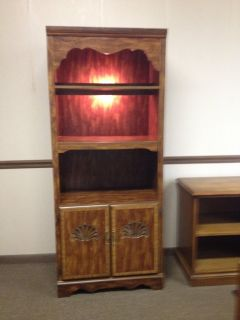 Bookcase/Cabinet - Lighted