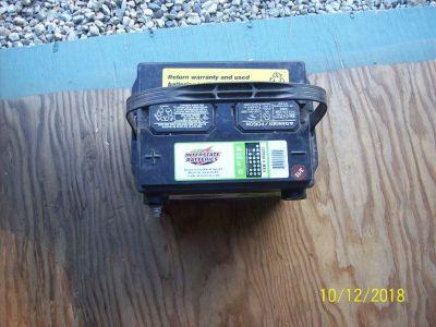 Sidepost battery