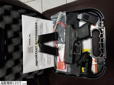 For Sale/Trade: GLOCK 26 LIKE NEW MINT IN BOX