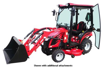 2018 Mahindra eMax 20S HST Cab Compact Tractors Lawn & Garden Wilkes Barre, PA