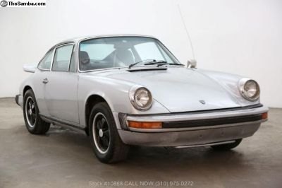 1974 Porsche 911 Sunroof Coupe