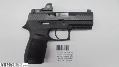 For Sale: Sig 320C-9-BSS-RX