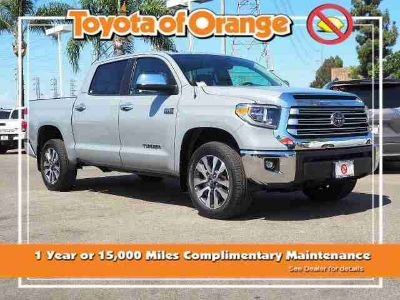Used 2018 Toyota Tundra 4WD CrewMax 5.5' Bed 5.7L (Natl)