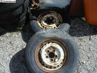 Late Bay Bus Rims Used Pair