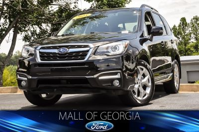 2018 Subaru Forester 2.5i Touring (Crystal Black Silica)