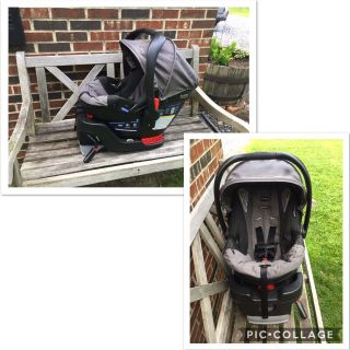 Britax B-Safe 35 Cat Seat w/base, perfect condition, exp 2024, smoke-free home, no accidents, asking $65 (cost $200 @Walmart)