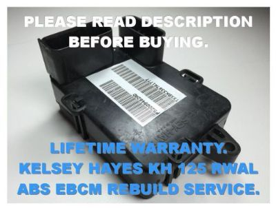 Purchase DODGE RAM 3500 KELSEY HAYES KH 125 RWAL ABS EBCM REBUILD SERVICE ONLY 1998-2008 motorcycle in Duluth, Georgia, United States