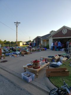 2 family garage sale 7/20 7am-noon. 222 waverly ct. Weatherford TX 76085