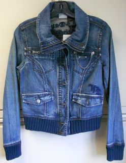 Sell Harley Davidson Womens Blue Jean Jacket 96060-12VW motorcycle in Hughesville, Maryland, United States, for US $69.99
