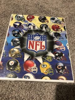 Football collective cards and holder