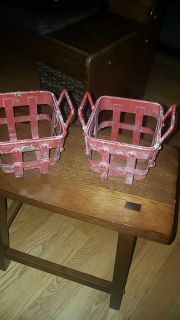 2 rustic baskets from Hobby Lobby