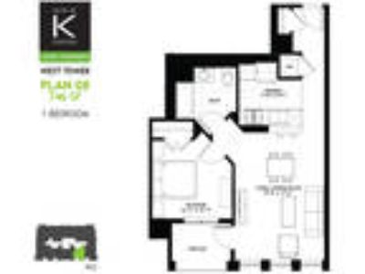 Alta at K Station - West Tower - One BR - Plan 08 & 11