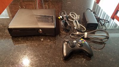 X-Box 360 with Controller