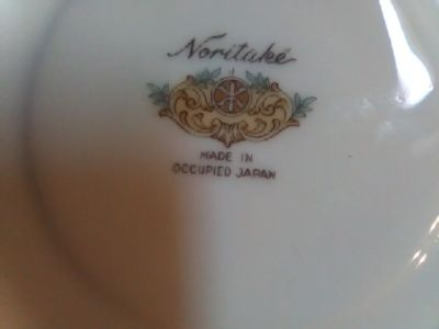 Noritake china occupped japan