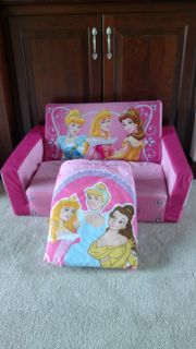 Cinderella Couch and Comforter