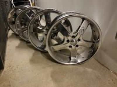 20 Chrome Rims. 5x114.3 5x115
