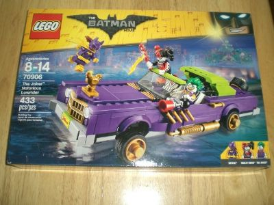 Lego #70906 The Joker Notorious Lowrider NEW