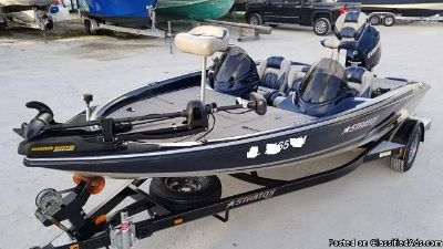 2007 Stratos 275XL Bass Boat