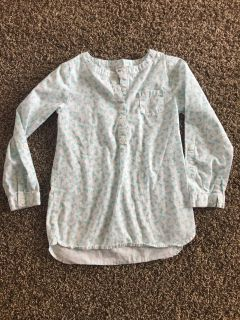 Carters size 6 tunic