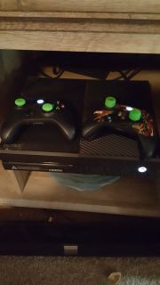 Xbox One w/ various games