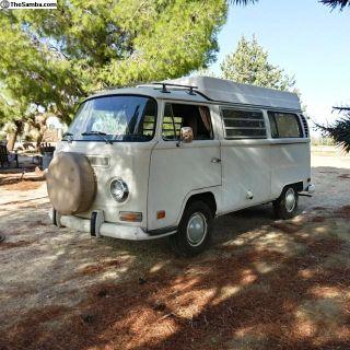 1970 Westfalia Pop-Top Camper Bus 2nd Owner