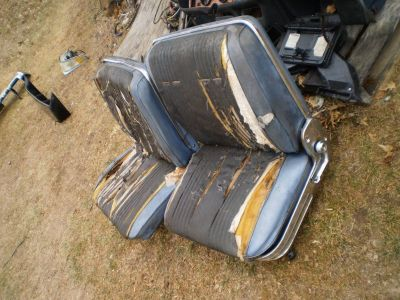 RAT ROD STREET ROD HOT ROD TRUCK CAR RECLINING BUCKET SEATS FORD DODGE GM CHEVY PONTIAC BOTH SEATS