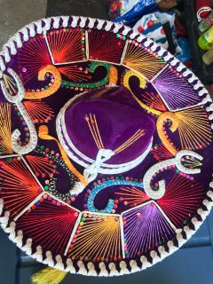 Adult Mexican Mariachi Sombreo Charro authentic Mexican hat