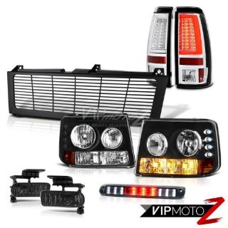 Buy 99-02 Silverado 2500 Taillights Billet Style Grille 3rd Brake Lamp Fog Lights motorcycle in Walnut, California, United States, for US $408.02