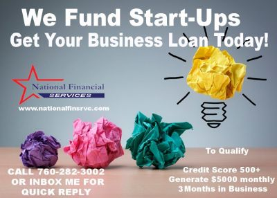 24-48 Hours Fast Business Cash - We Fund Start-Ups !