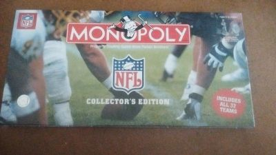 Collectors edition NFL Monopoly unopened