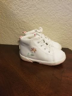 Baby Girl Walking Shoes Size 4