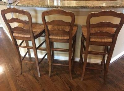 Barstools (3) by Hooker Furniture Co.