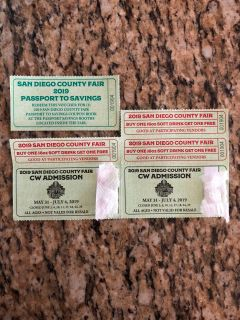 San Diego fair tickets
