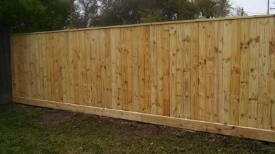 Wood Fences and Secure Iron Fences