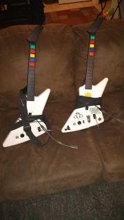 2 guitar hero 3 guitars.