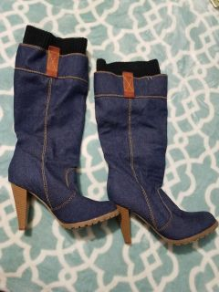 Jean's boots