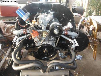 vw 1600cc dual port motor