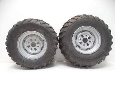 Purchase 2010 Kawasaki Brute Force 750 4x4i ATV 24x10-11 Maxxis M978 Rear Rims & Tires motorcycle in West Springfield, Massachusetts, United States, for US $129.90
