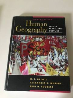 Human Geography textbook