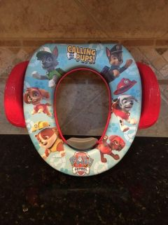 Paw Patrol Potty Seat. $4. NWOT, never used. Quick pick up behind YMCA