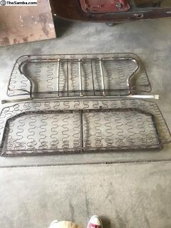 Vw beetle rear seat complete 58-64