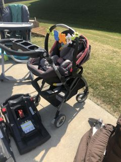 Graco Click mode travel system with car bases
