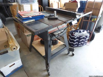 "Craftsman 12"" Table Saw"