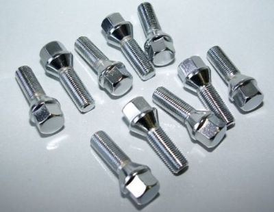 Sell VW LONGER WHEEL BOLTS STUDS - FULL 10 pc BOLT SET 45mm 14x1.5 CONICAL 17mm HEAD motorcycle in Watertown, Massachusetts, United States, for US $18.00