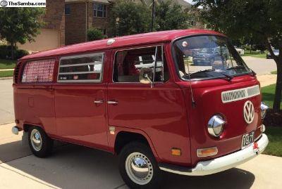 1971 Coca Cola Westy Tintop Camper Baywindow Bus