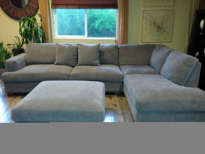 3 pc Gray Sectional from Costco