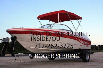 BOAT DETAILING $12.00 FOOT 712-262-3725 SPENCER,IOWA